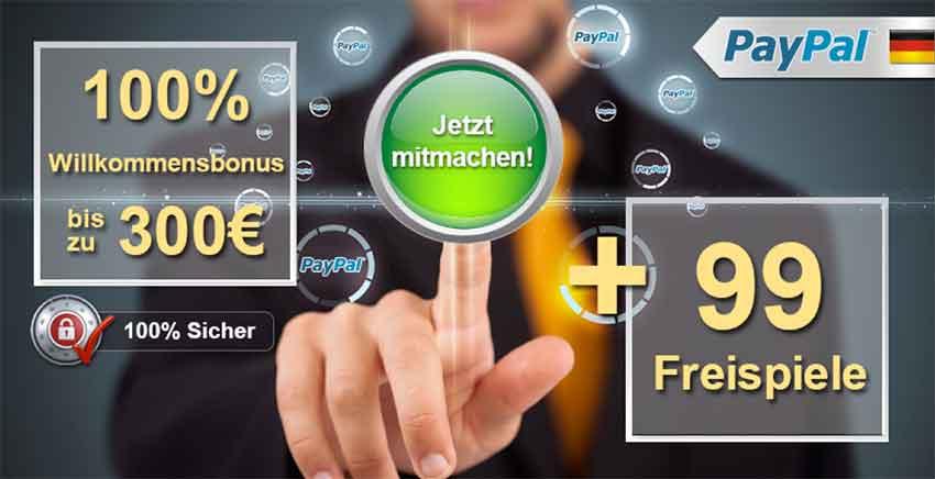 Paypal Glücksspiel
