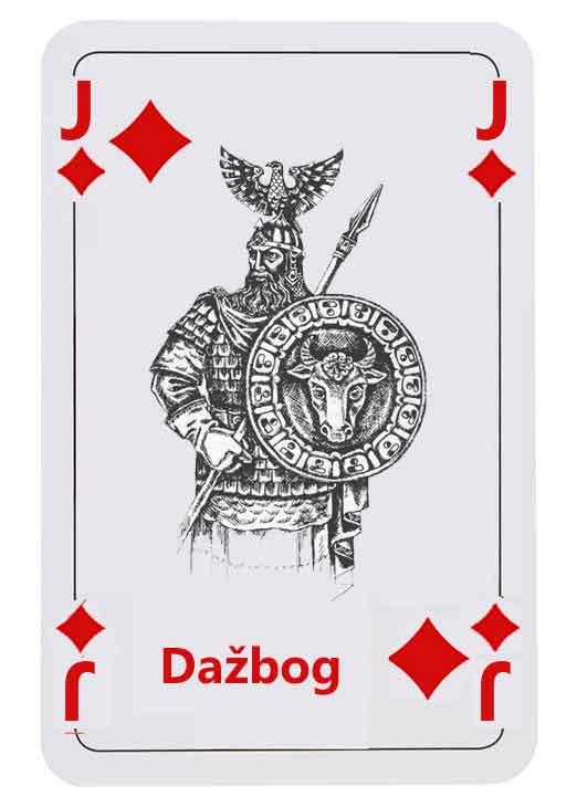 Dažbog Götter und Glücksspiel