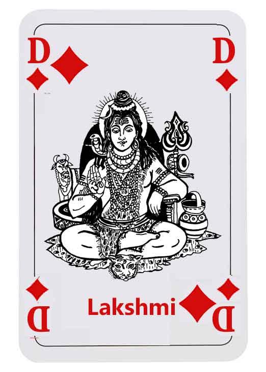 Laksmi - Hindugöttin des Glücks