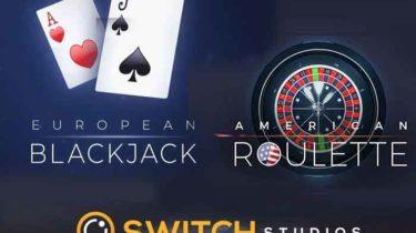 american roulette und european Blockjack - Switch Studios